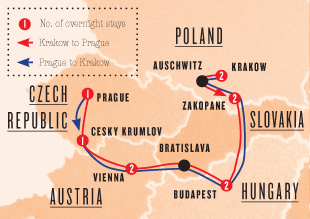 Eastern Festive Trek (Krakow - Prague)